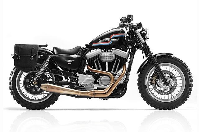 REBEL WITH A CAUSE. Hageman Motorcycles' Harley Scrambler