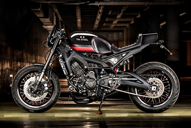 WATCH THIS. Macco Motor's Timely Yamaha XSR900 Cafe Racer