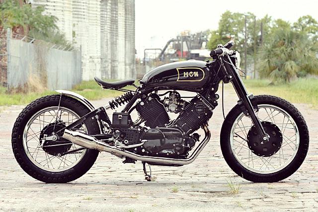 VINCENT-SAN. An Yamaha XV920 from Hageman Motorcycles