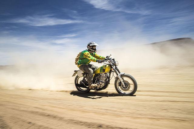 STILETTO SCRAMBLER SR400 by Fuel Bespoke Motorcycles