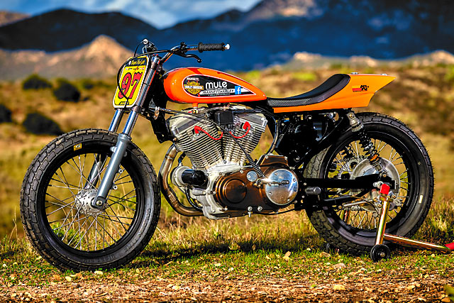 RARELY LEGAL. Mule Motorcycles' Track-Only Harley Super Hooligan