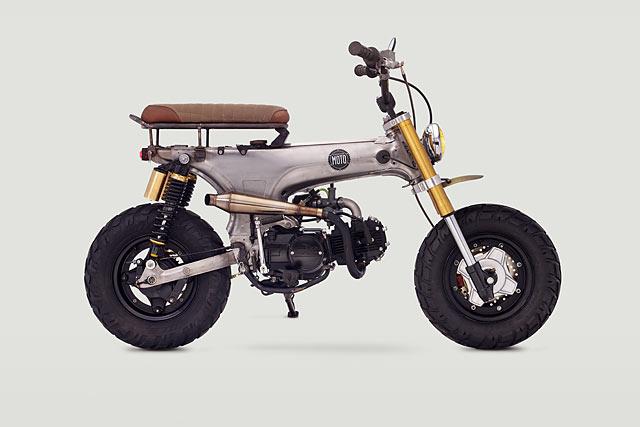 LIVIN' THE DREAM. Classified Moto's 'Junior' Honda CT70 Scrambler
