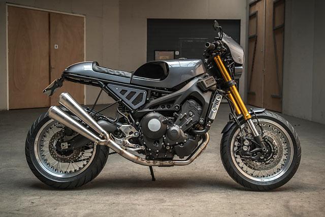 HIGHER PURPOSE. Ironwood Motorcycles' Yamaha XSR900 Cafe Racer