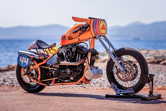 SUGAR RUSH. Moto Candy's Sweet Sportster Sprint Racer