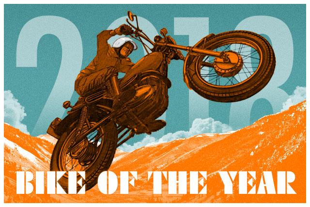 The PIPEBURN 2018 Bike of the Year Award
