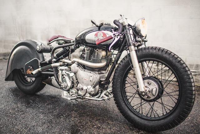 BEELZEBOB. Madhouse Motors' 'Devil's Advocate' 1957 Indian