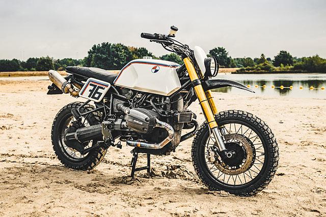 BAJA HAHA. Moto Adonis' Mad BMW R1100 Enduro Racer
