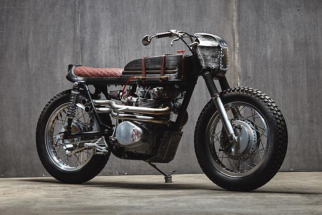 RESISTANCE IS FUTILE. Pop Bang Classics' 'Borg' Honda CB450