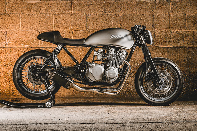 MIRTH, WIND AND FIRE. Mellow Motorcycles' 'C4' Kawasaki Zephyr Neo-Cafe