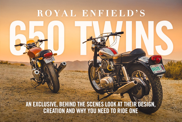 PIPEBURN EXCLUSIVE: A Behind The Scenes Look At Royal Enfield's New 650 Twins