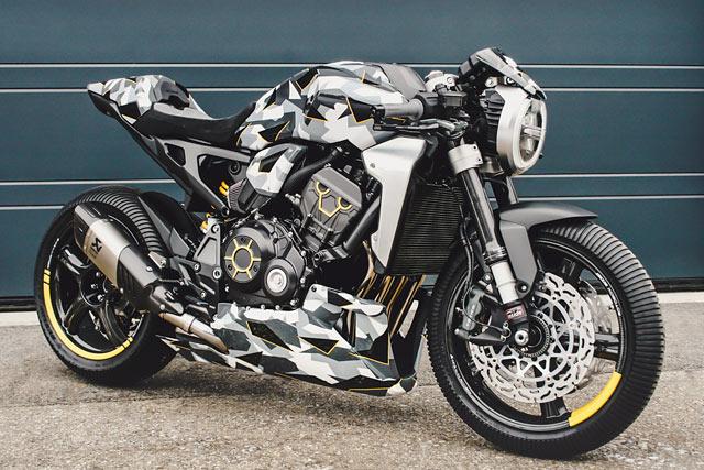 NEW MODEL ARMY. Gannet & Fuhrer's Honda 'CB1000R-adical' Neo Racer