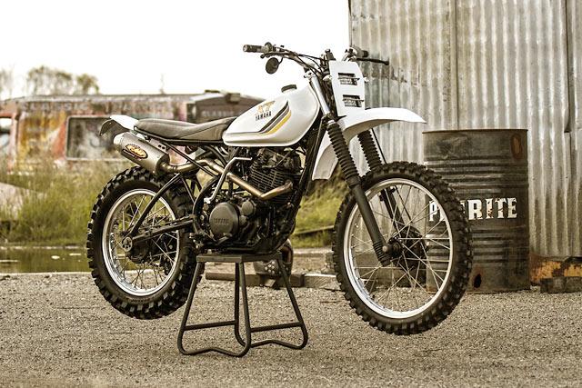 Animal Farm. Purpose Built Moto's Yamaha XT250 MX Scrambler