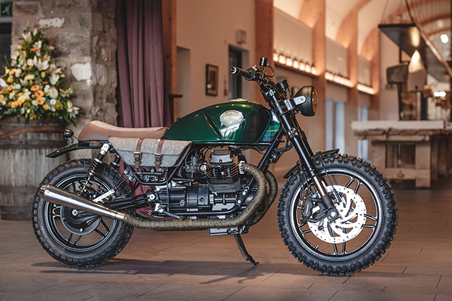 'The Flying Scotsman' Moto Guzzi Scrambler