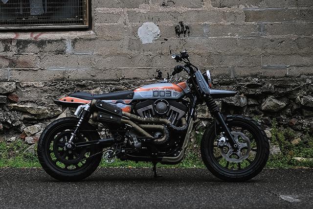 OVRLANDR. Harley-Davidson Sportster by Combustion Industries.