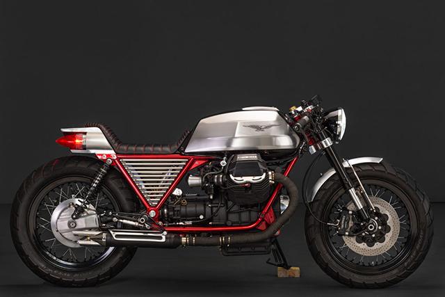 'La Monica'. Moto Guzzi Le Mans III by Dirty Seven Garage.