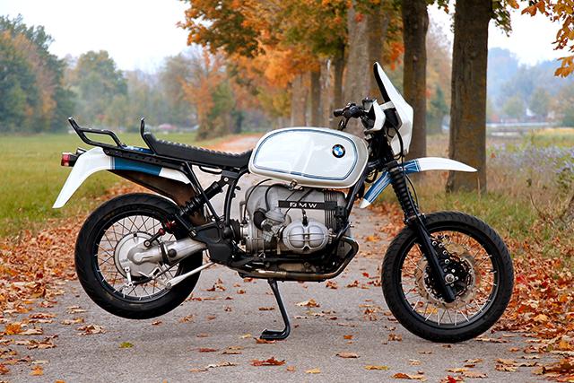 ROUGH DIAMOND: BMW R100GS by Diamond Atelier