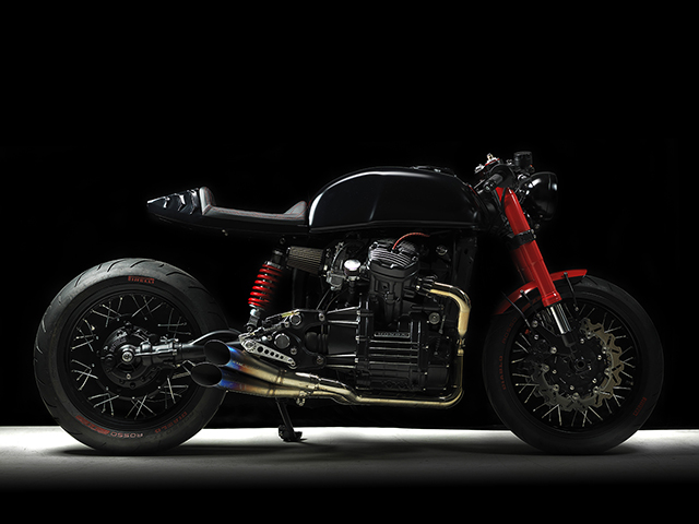 MAGNIFICENT MAGGOT: Honda CX500 'Mustang' by Underground Custom Cycles