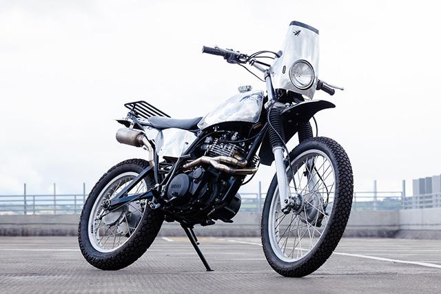 CREAM OF THE CROP: Yamaha XT550 by Zombie Gelato