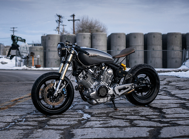 EDGE OF YOUR SEAT: Yamaha XV920 Virago by 485 Designs