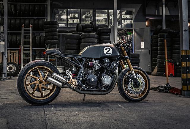 RAGING BULL: Honda CB750 by Bull Moto Custom