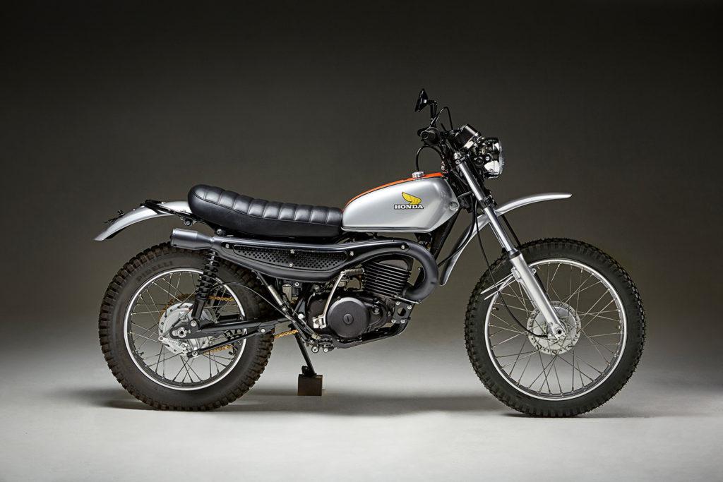 FACTORY FRESH: 1974 Honda MT250 Elsinore by Fossick Moto