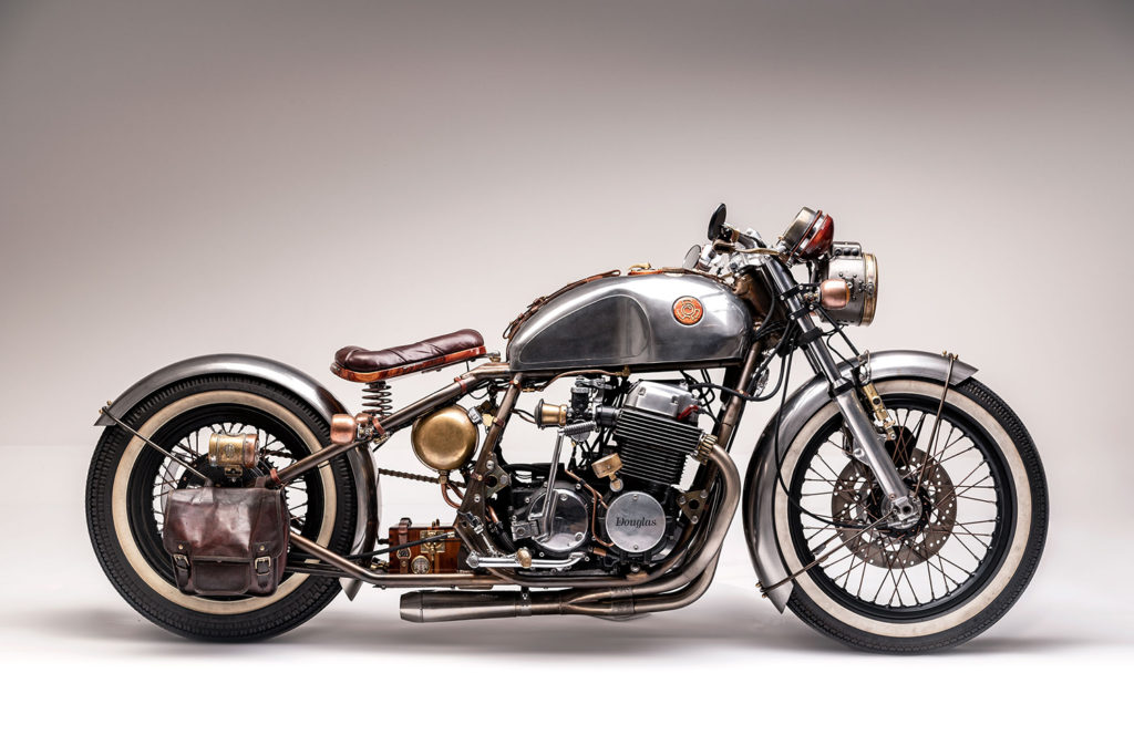 FROM JUNK TO STEAMPUNK: Honda CB750 'Douglas' by Atomic Contraptions.