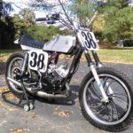 Yamaha dt175 flat tracker