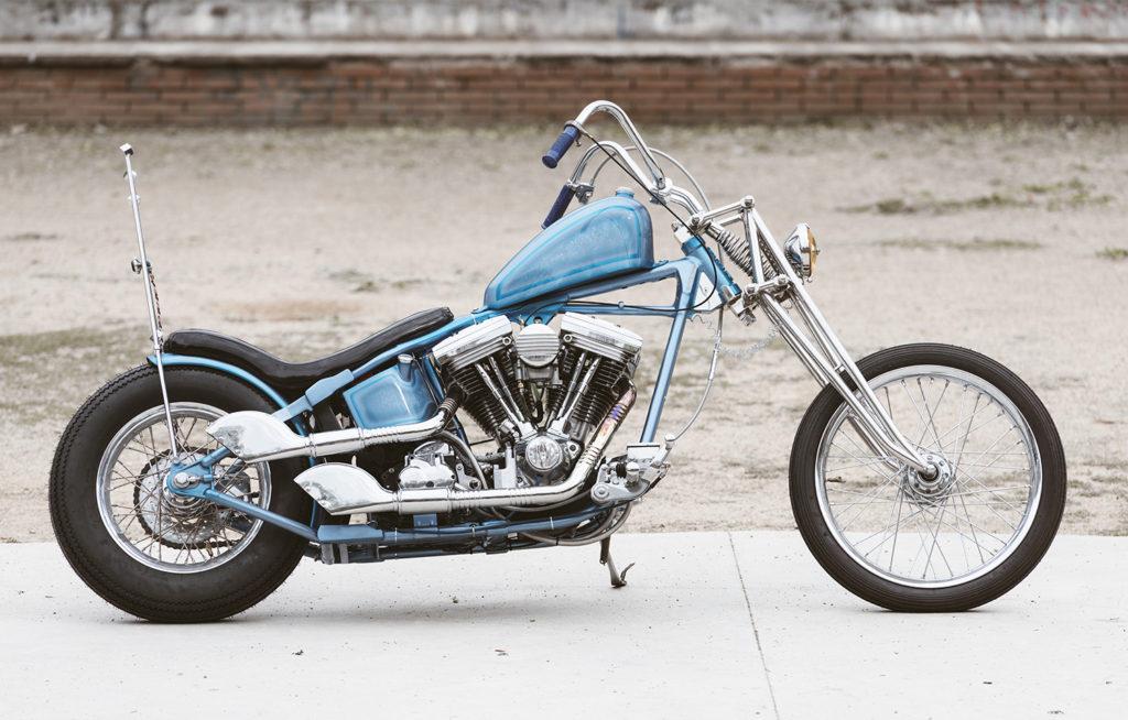 CATALONIA CHOPPER: 1990 Harley-Davidson Springer by Free Kustom Cycles.