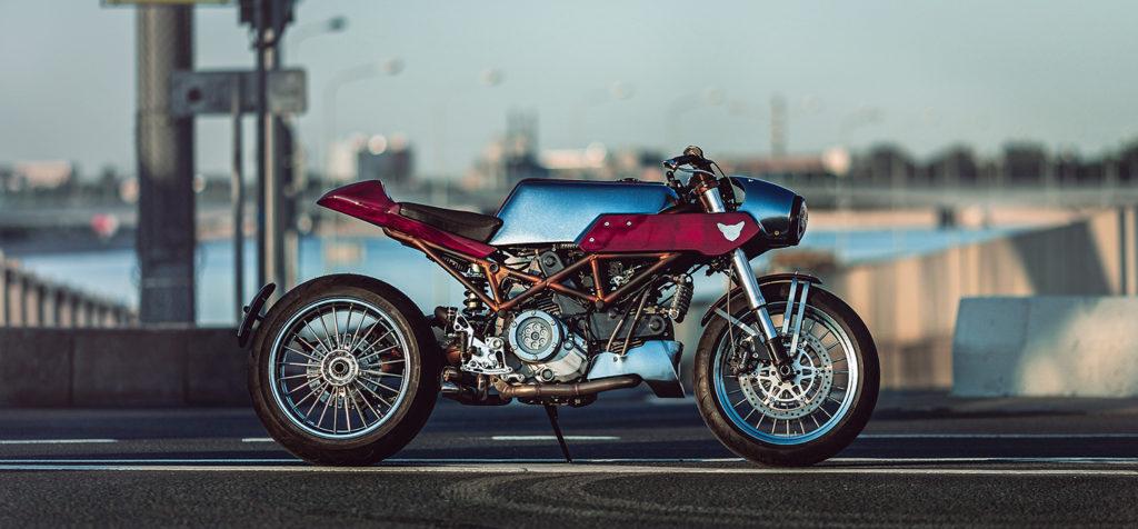 RUSSIAN REVOLUTION: Ducati S2R 'Sherwood' by Drive-In Workshop.