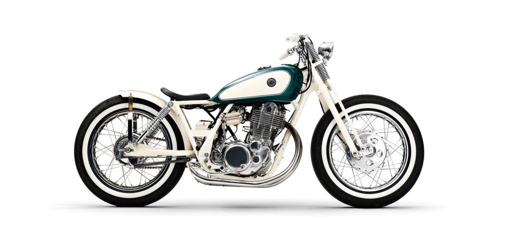 SWEDISH SPRINGER: Yamaha SR500 Bobber by Black Lanes Motor.