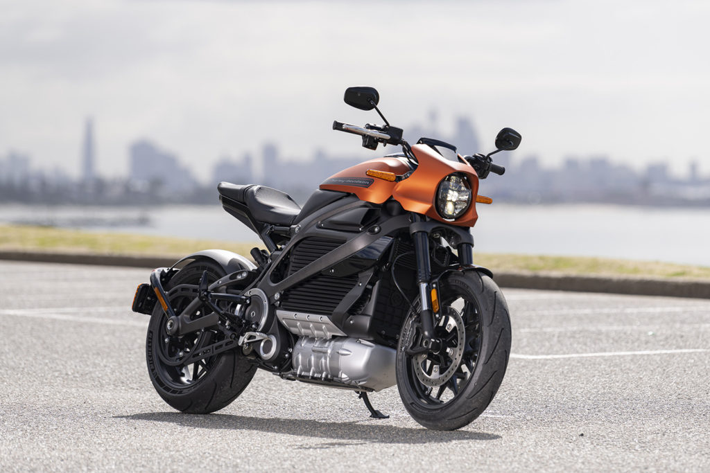 ELECTRIC DREAMS: Harley-Davidson LiveWire First Ride.