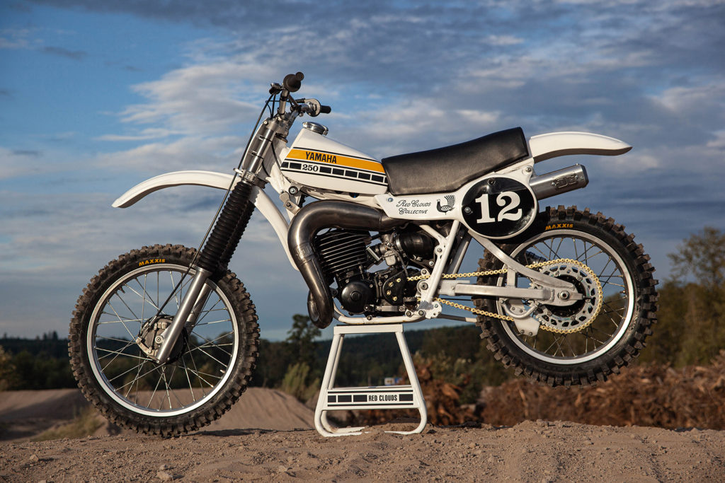 SCREAMING CLASSIC: 1979 Yamaha YZ250 by Red Clouds Collective.