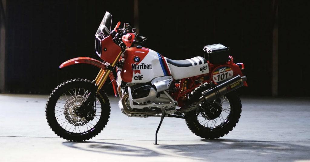 THE MARLBORO MAN: Roland Sands builds an '80s inspired DAKAR GS.