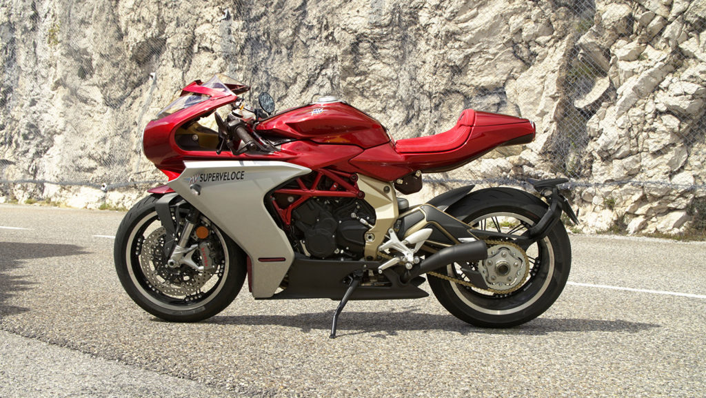 MV Agusta Superlove: A review of the Superveloce Oro.