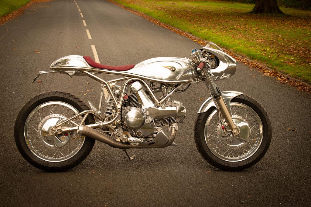 MONSTER MASTERPIECE: Ducati 750 by Alonze Custom.