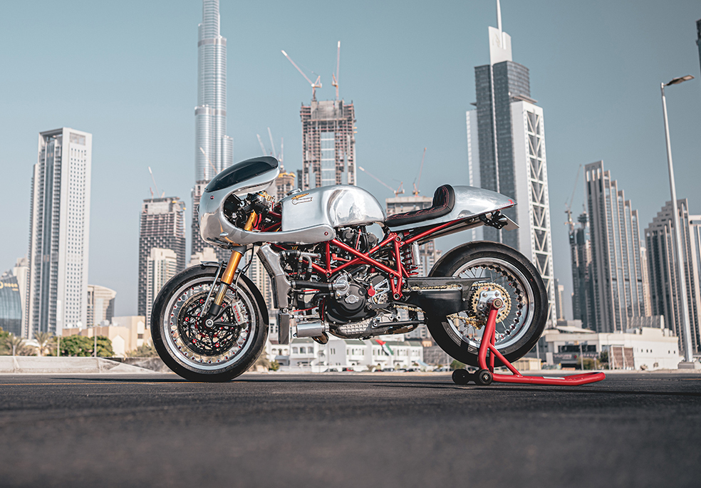 SIX YEARS IN THE MAKING: Ducati 996 'Project X' by VR Customs.