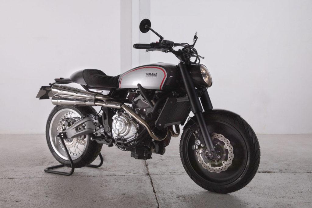 REIMAGINED RETRO RUNNER: Yamaha '700GT' by RUAMACHINES.