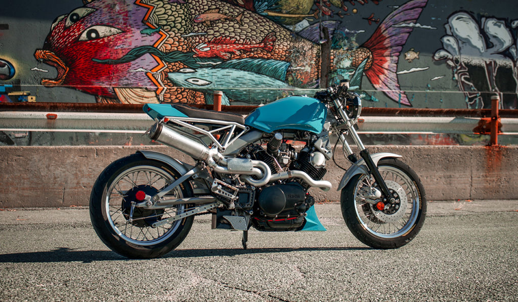 UNIQUE SPIN: Yamaha XV920R by Bonafide Moto.
