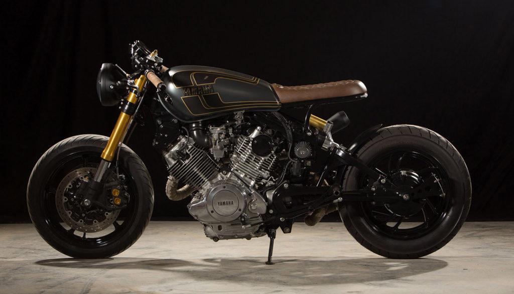 COVID CREATION: Yamaha XV750 by Cafe Cycles.