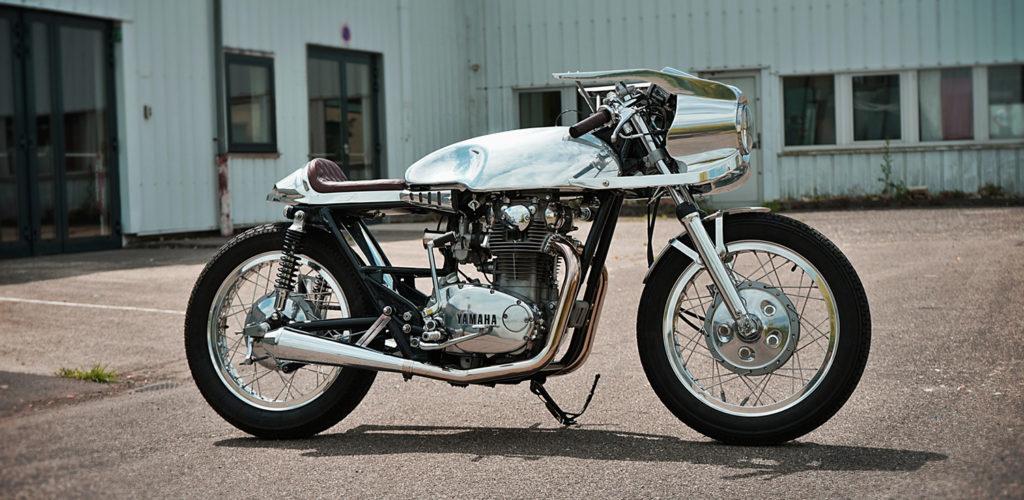 ALUMINIUM BULLET: Yamaha XS650 by Yves Heitz.
