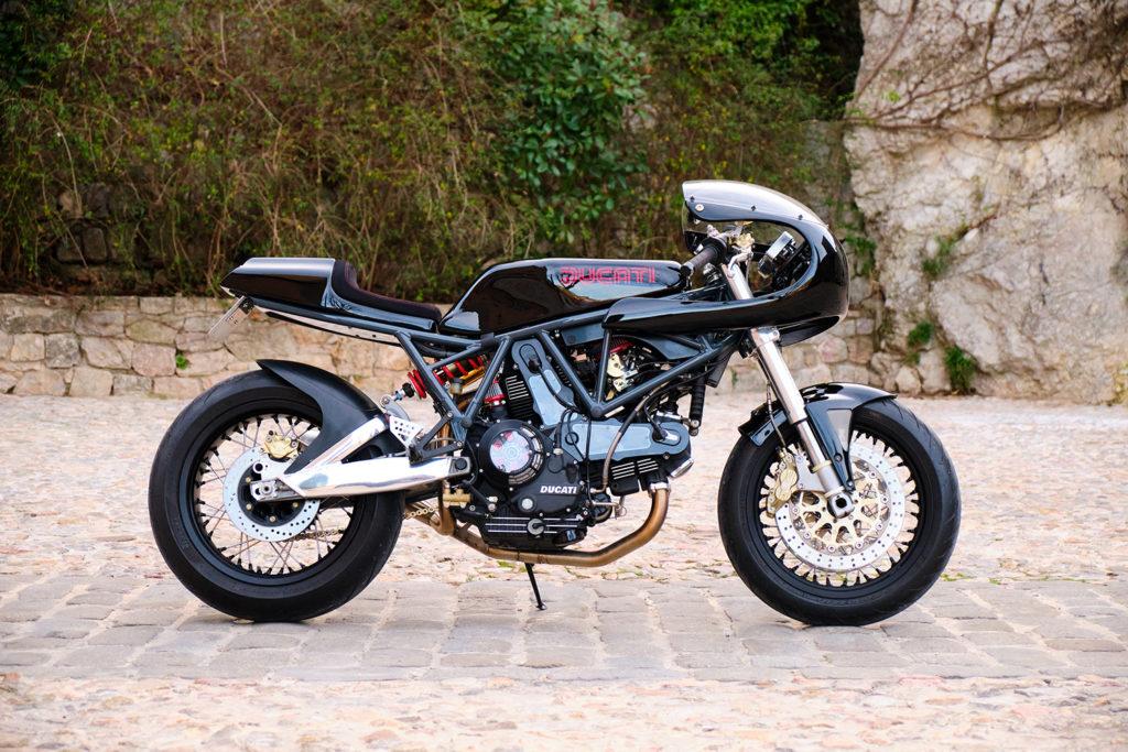 RUDE AWAKENING: Ducati Supersport 1000 DS 'RB002' by Rude Bikes.