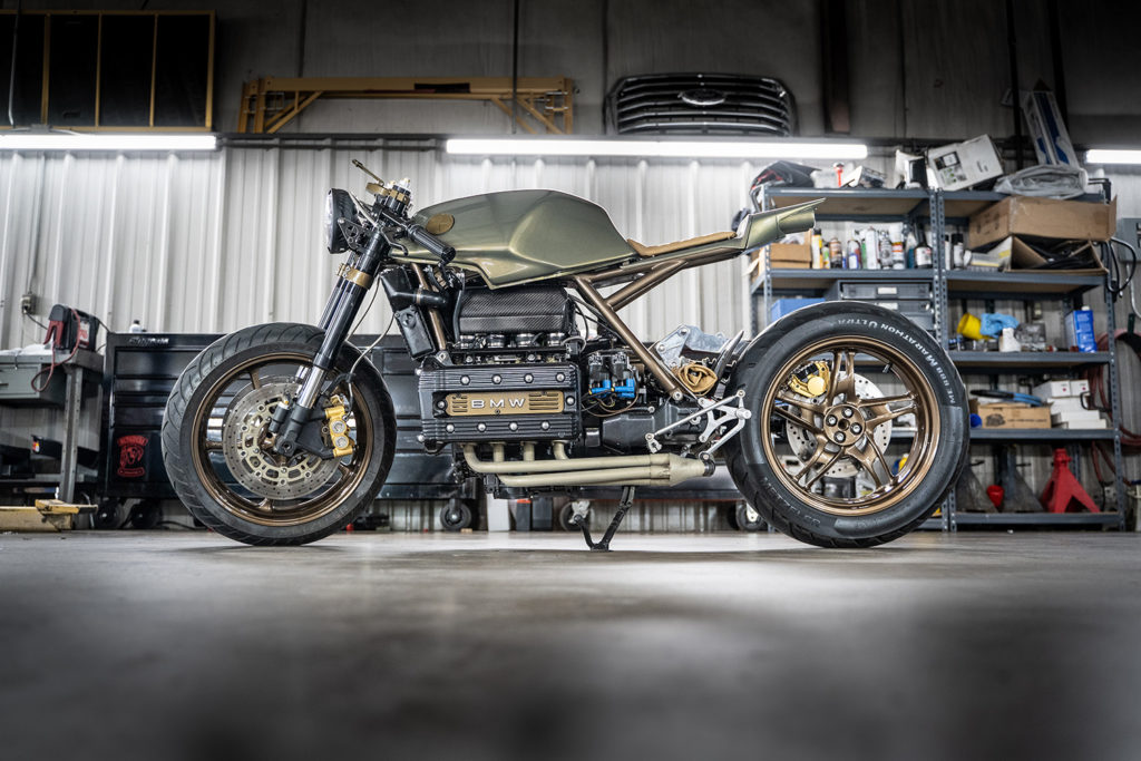 BMW IN HIS BLOOD: 1985 K100RS by K Bike Cafe.