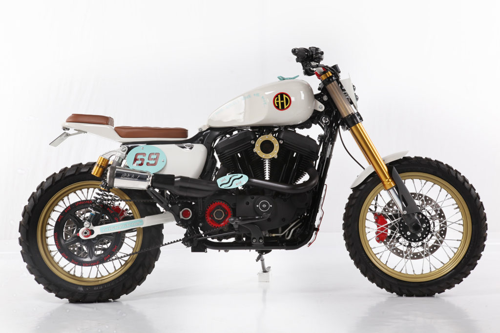 THE LORD GIVETH: Harley-Davidson 'Urban Tracker' by Lord Drake Kustoms.