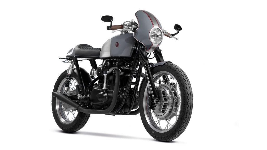 TURN AND BURN: Kawasaki W800 'Maverick' by Shif Customs.