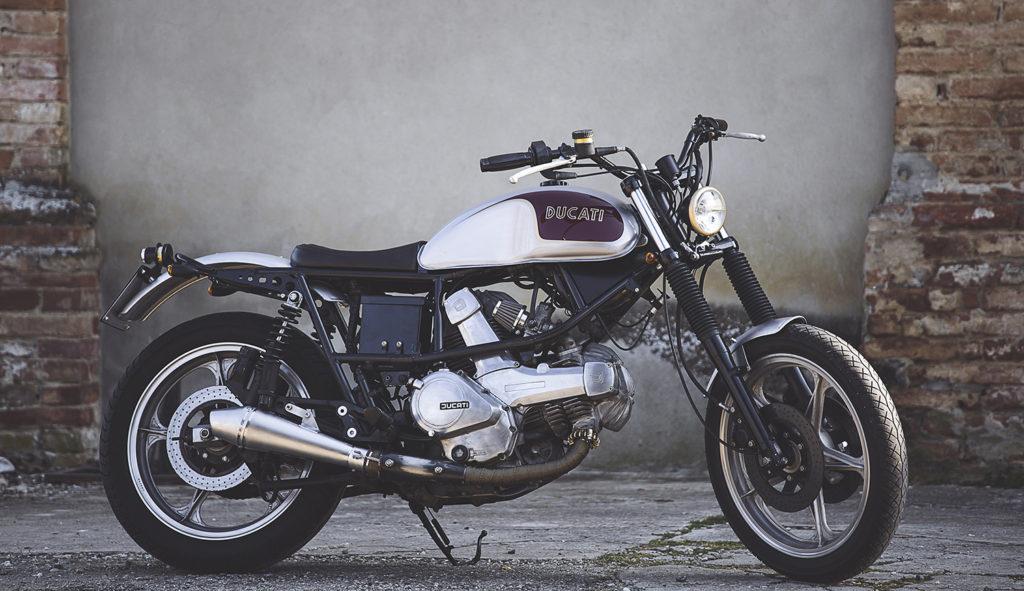 BOLOGNA BEAUTY: 1985 Cagiva Alazzurra by Nico Dragoni Motociclette.