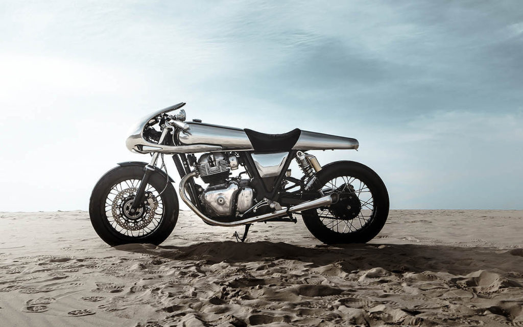 TESTING THE LIMITS: A high-end kit for the Royal Enfield GT 650 by Bandit9.