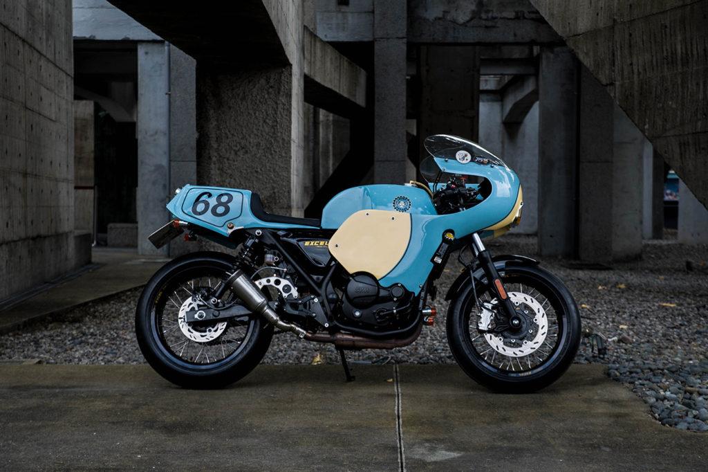 NATIONAL PRIDE: 2015 SYM SB300 by Mike's Garage.
