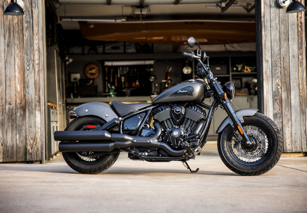 FOUR MEN, THREE CHIEFS: Indian Motorcycle launches Chief Custom Build Program.