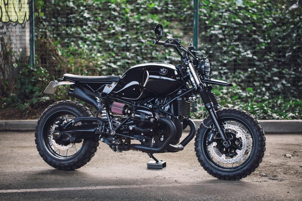 BLACK & BEEFY: BMW R nineT by Zombie Gelato.