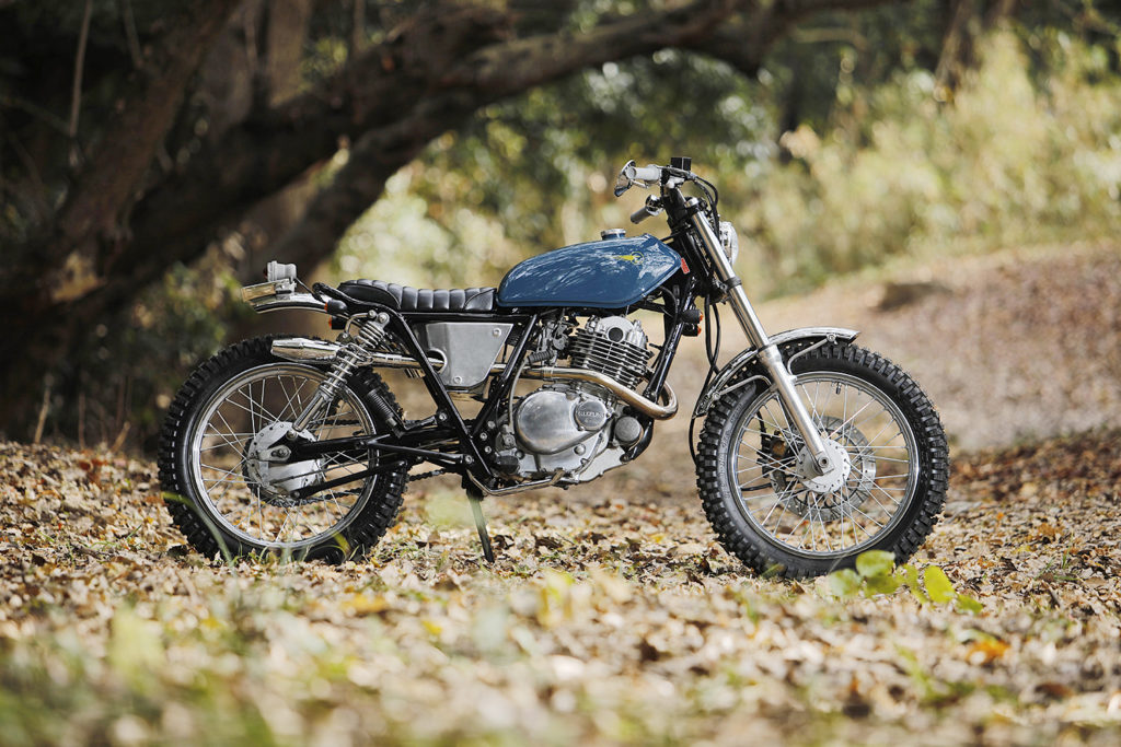 TASTEFULLY DONE: Suzuki ST250 Scrambler by Heiwa Motorcycles.